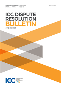 ICC Dispute Resolution Bulletin 2019