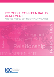 ICC Model Confidentiality Agreement