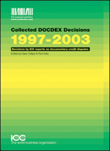 Collected DOCDEX Decisions 1997 - 2003