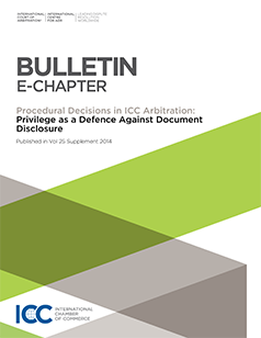 Privilege as a Defence against Document Disclosure